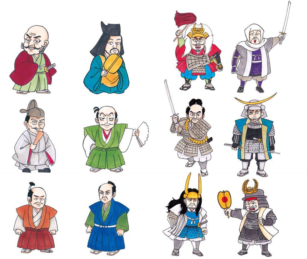 日本の歴史 百々敬子江戸イラストレーター えどえどアートらいふ